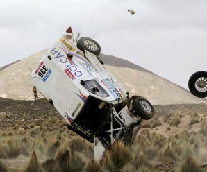 2 impactantes accidentes DAKAR 2015